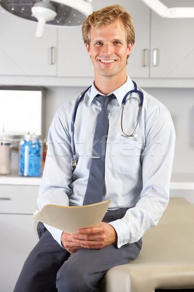 Porträt Arzt Männer Team Person Stock foto © monkey_business