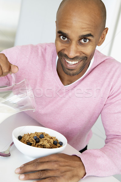здоровое питание завтрак продовольствие домой кухне Сток-фото © monkey_business