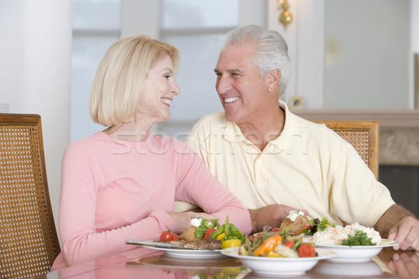 Сток-фото: пожилого · пару · здорового · вместе · женщину