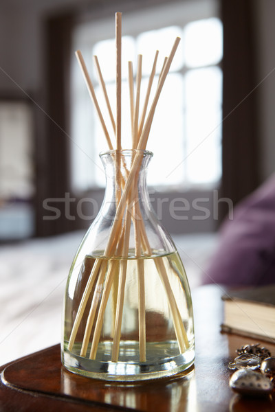 Incense sticks on bedside table Stock photo © monkey_business