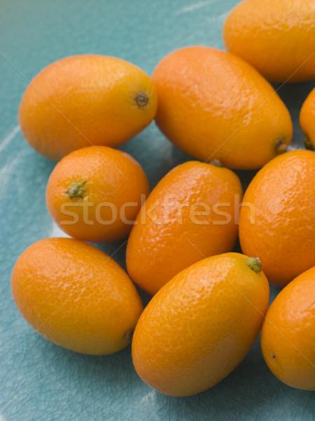 Dish Of Fresh Kumquat Stock photo © monkey_business