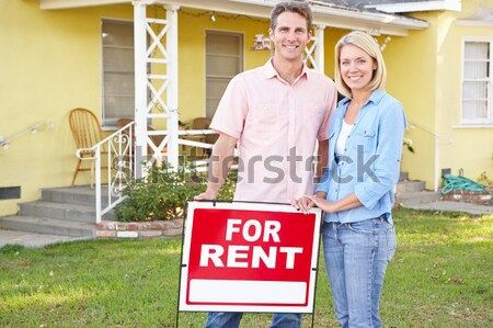 Real estate agent at work Stock photo © monkey_business