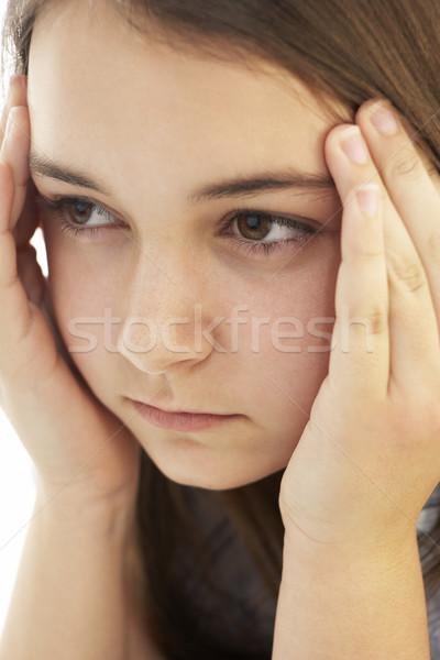 Retrato joven adolescente color hermosa Foto stock © monkey_business