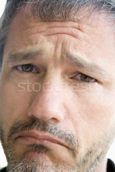 Head shot of sad man Stock photo © monkey_business