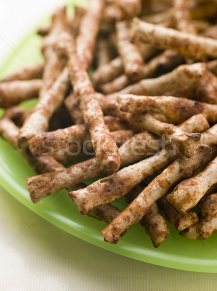 Savoury Wholemeal Snacks flavoured with Yeast Extract Stock photo © monkey_business