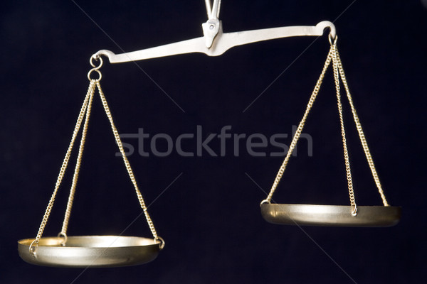 Old-Fashioned Scales Stock photo © monkey_business