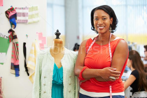 Fashion Designer In Studio Stock photo © monkey_business
