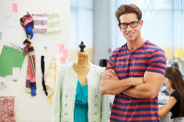 Сток-фото: мужчины · моде · дизайнера · студию · человека · мужчин
