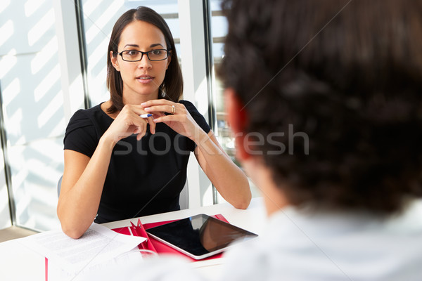 Businesswoman Interviewing Male Candidate For Job Stock photo © monkey_business
