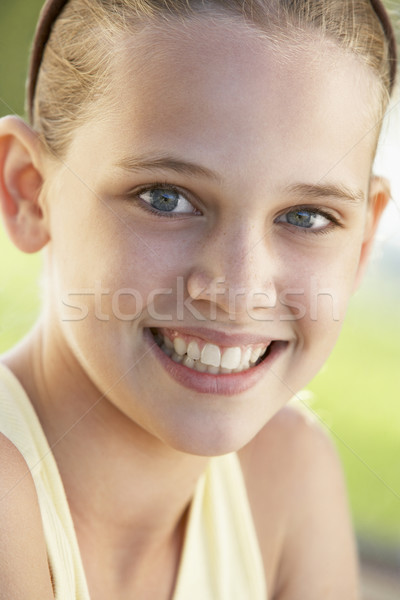 Kids Portraits, Girl, Sad, Troubled, Hurt, Scared, Kids, Headsho Stock photo © monkey_business