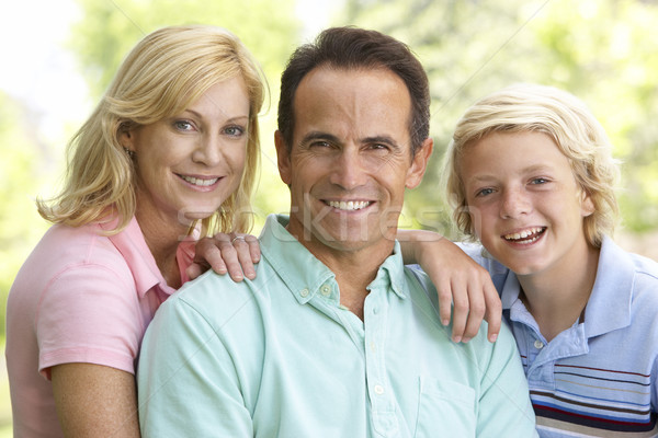 Couple And Their Son Stock photo © monkey_business