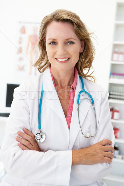 Mid age female doctor Stock photo © monkey_business
