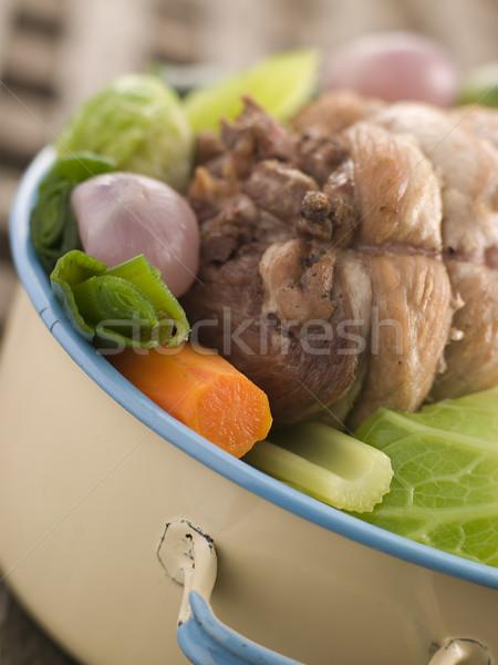 Pot au Feu Belly Pork Stock photo © monkey_business