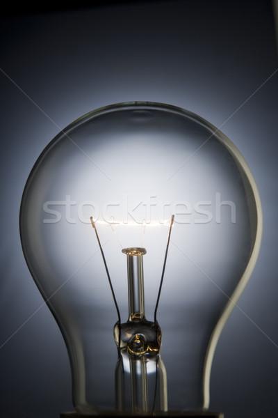 クローズアップ 電球 光 科学 エネルギー ストックフォト © monkey_business