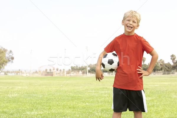 Foto stock: Fútbol · equipo · ninos · fútbol · nino
