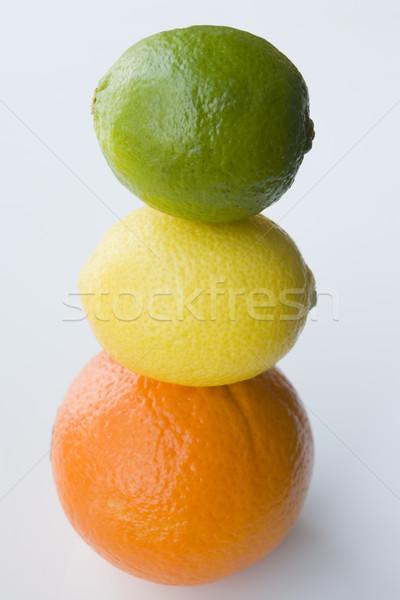 цитрусовые фрукты здоровья зеленый лимона Сток-фото © monkey_business