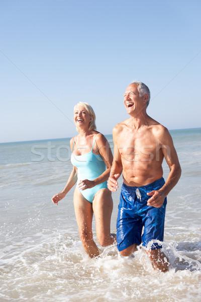 Сток-фото: пляж · любви · человека · морем