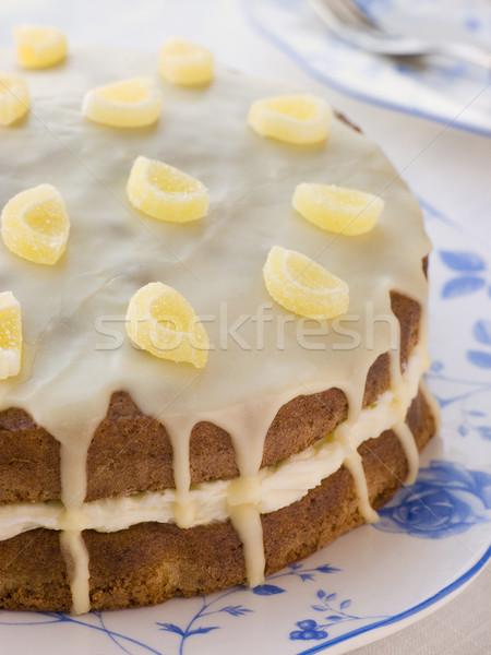 Lemon Drizzle Cake Stock photo © monkey_business