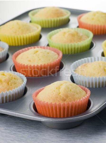 Cup Cakes in a Cup Cake Tray Stock photo © monkey_business