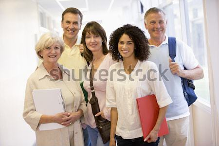 Doctors And Nurses At The Reception Area Of A Hospital Stock photo © monkey_business