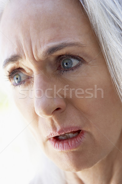 senior,portrait,Woman,Sixties,Shocked,Stunned,Disbelief,Headshot Stock photo © monkey_business