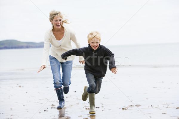 Nem leírás gyerekek gyerekek gyermek tenger Stock fotó © monkey_business