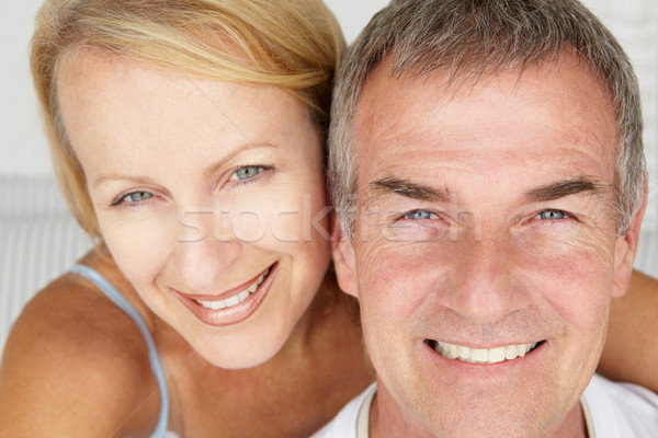 Mid age couple head and shoulders Stock photo © monkey_business