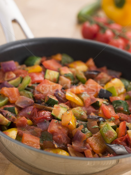Ratatouille in a Saute Pan Stock photo © monkey_business