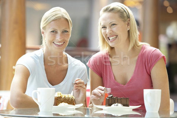 Stock photo: Female Friends Having Lunch Together At The Mall