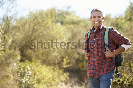 Young man in the country Stock photo © monkey_business