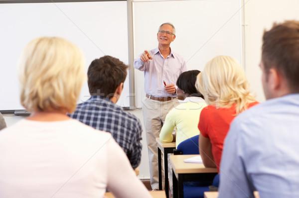 старший преподавания класс женщины образование Сток-фото © monkey_business