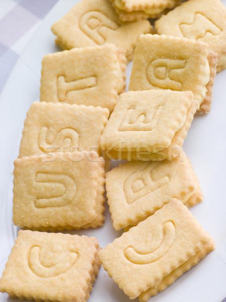 乳蛋糕 奶油 餅乾 孩子 餐 甜食 商業照片 © monkey_business