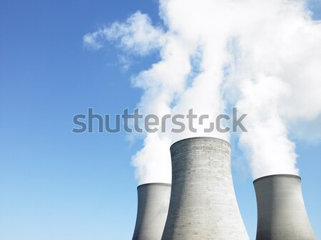 Smoke From Industrial Plant Stock photo © monkey_business
