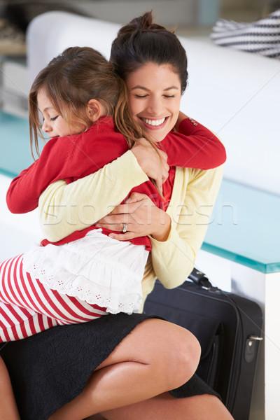 дочь матери возврат работу женщину детей Сток-фото © monkey_business