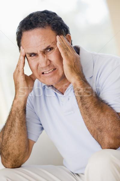 Man With A Headache Stock photo © monkey_business