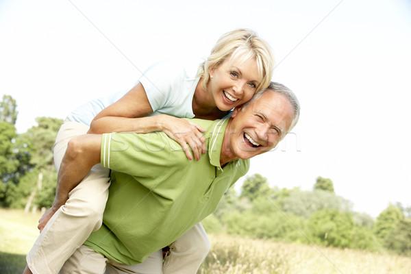 Сток-фото: зрелый · пару · женщину · человека