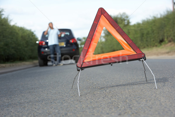 драйвера сломанной вниз опасность Сток-фото © monkey_business