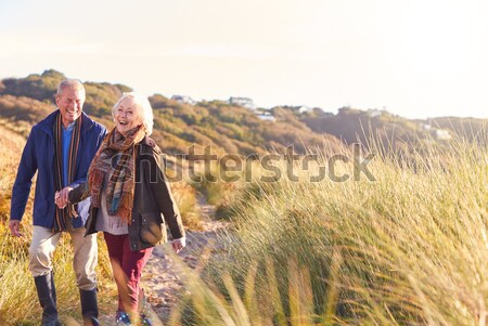Young women on country walk Stock photo © monkey_business
