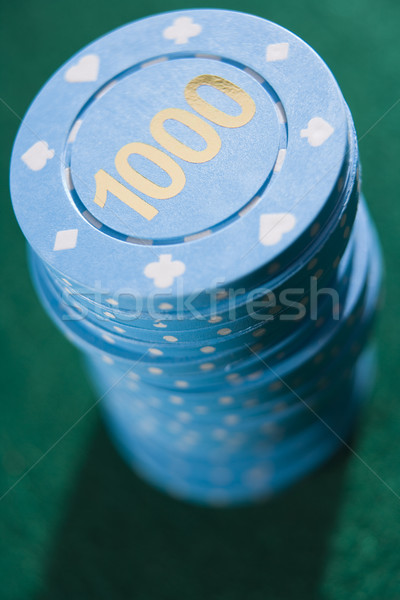 Stack of betting chips Stock photo © monkey_business
