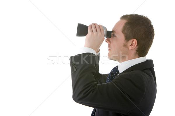 Businessman Looking Through Binoculars Stock photo © monkey_business