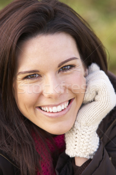 Portrait Of Young Woman Smiling Stock photo © monkey_business