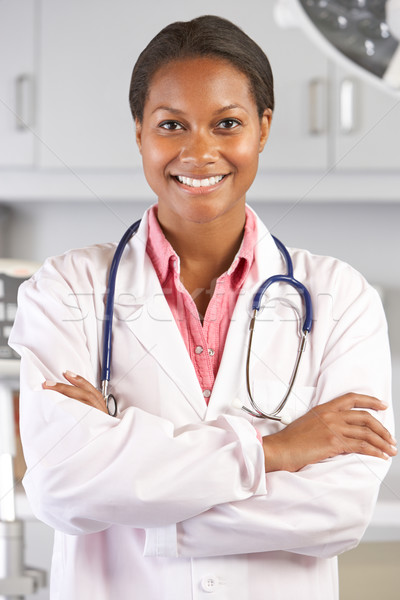 Portrait Of Female Doctor In Doctor's Office Stock photo © monkey_business