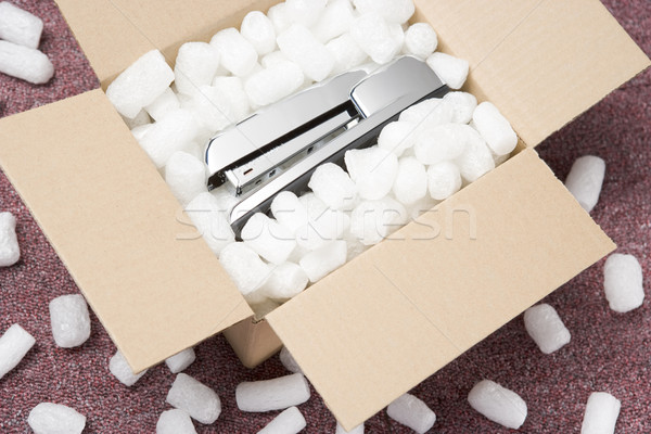 A Package Containing A Stapler Stock photo © monkey_business