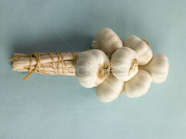 Bulbs of Garlic Overhead Stock photo © monkey_business
