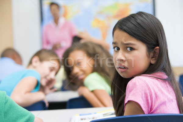 Elementary school pupil being bullied Stock photo © monkey_business