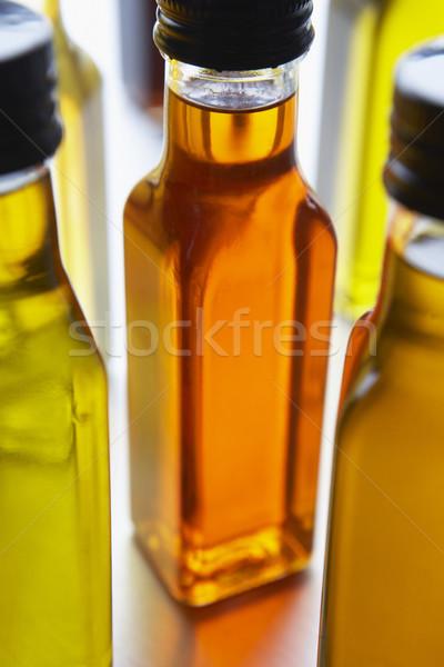 Garrafas azeite Óleo garrafa cor inglaterra Foto stock © monkey_business