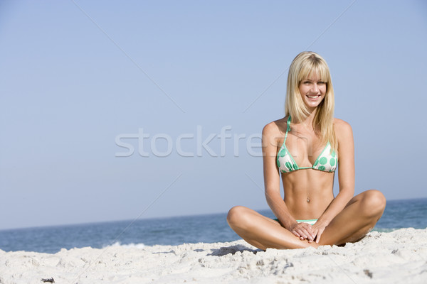 Young woman on beach holiday Stock photo © monkey_business