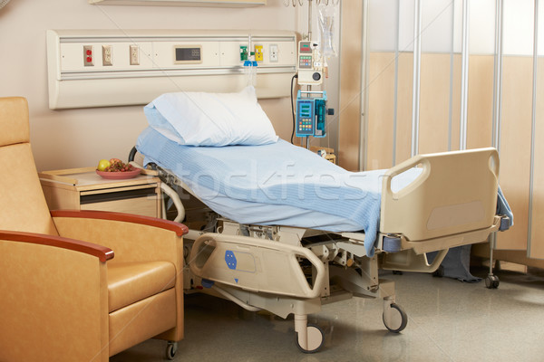 Empty Bed On Hospital Ward Stock photo © monkey_business