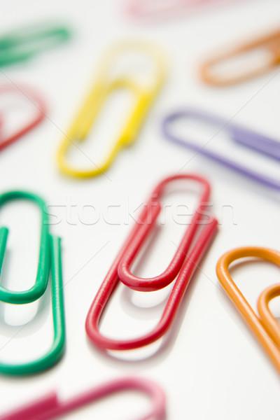 Kolorowy grupy plastikowe kolor pojęcia Zdjęcia stock © monkey_business