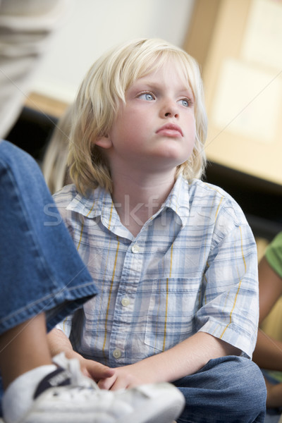 Boy daydreaming at kindergarten Stock photo © monkey_business